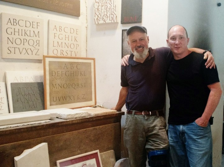 Eric Marlan and Greg Hanlon Letter Carvers and Stone Cutters