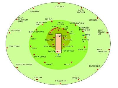 cricket field positions