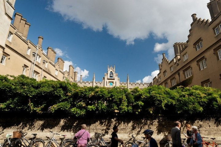 Front of Sidney Sussex College