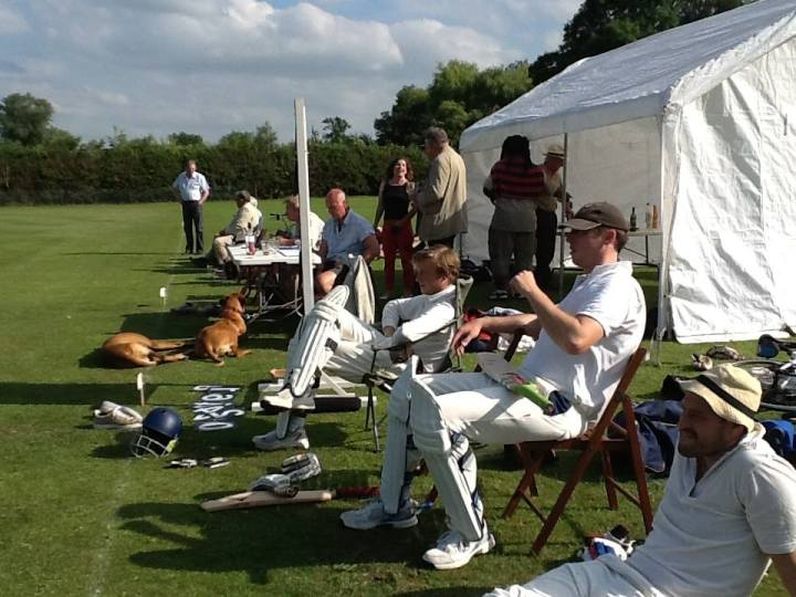 Grantchester cricket club members