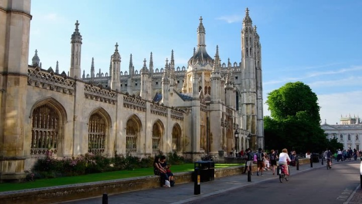 Kings College on King's Parade