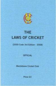 MCC Laws of Cricket